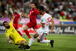 Iran vs Syria friendly football match in Tehran