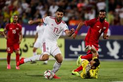 مباراة ودية بين إيران وسوريا