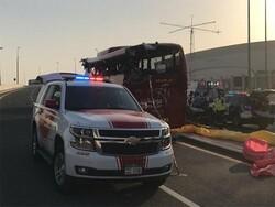 دبئی میں ٹریفک حادثے میں کم ازکم 15 افراد ہلاک