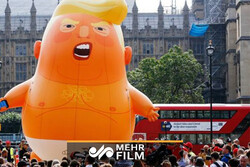 İrlanda'da Donald Trump karşıtı protesto