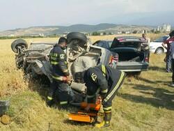 ١٠ تن در ٢ تصادف سواریها مجروح شدند