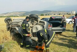 تصادف در محور مهران-دهلران ۳ کشته برجا گذاشت