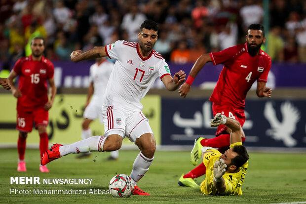 Iran beat Syria 5-0 in friendly football match