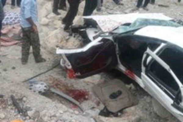 تصادف در محور باشت به گچساران یک کشته برجا گذاشت