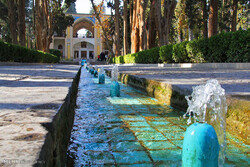A view of Bagh-e Fin (Fin Garden) in Kashan