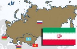 رشد ۶ درصدی تجارت ایران با اتحادیه اوراسیا