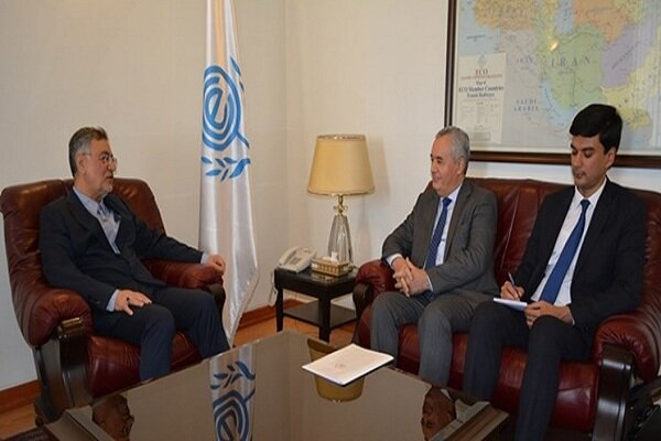Tajikistan's amb. submits credentials to ECO secretary