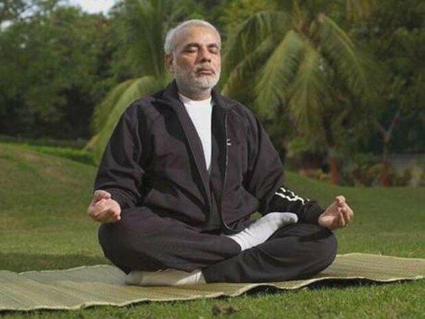 بھارتی وزیر اعظم کی عوام کو یوگا ورزش کرنے کی سفارش