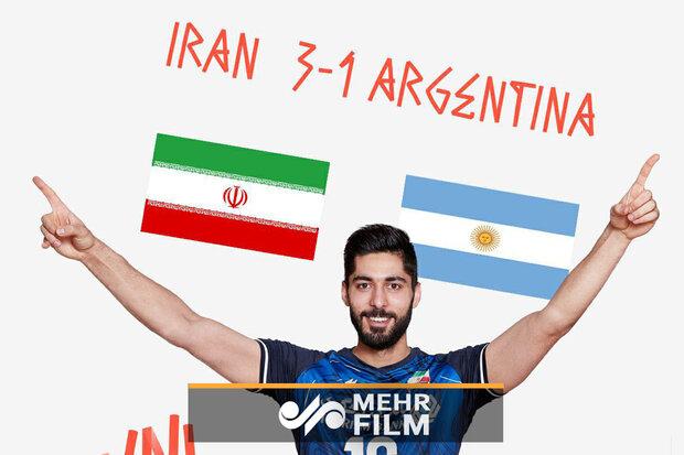 خلاصه بازی ایران و آرژانتین/ «آلبی سلستهها» از پای درآمدند