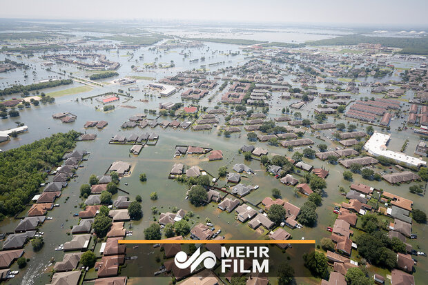 تصاویر شگفتانگیز نشنال جئوگرافیک از طوفان هاروی