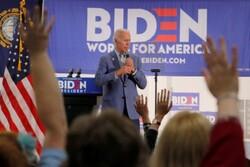 ادامه پیشتازی«بایدن» در میان نامزدهای دموکرات انتخابات ۲۰۲۰ آمریکا