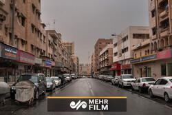 خیابانی با سیستم خنک کننده عجیب در کشور قطر