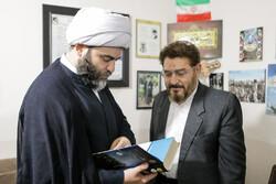 سازمان تبلیغات اسلامی کے سربراہ کا دورہ ہمدان