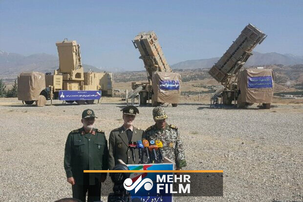 VIDEO: '15th of Khordad' air defense system