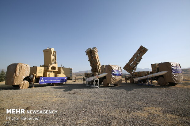"""سامانه سلاح پدافند هوایی پیشرفته """" ۱۵ خرداد"""""""
