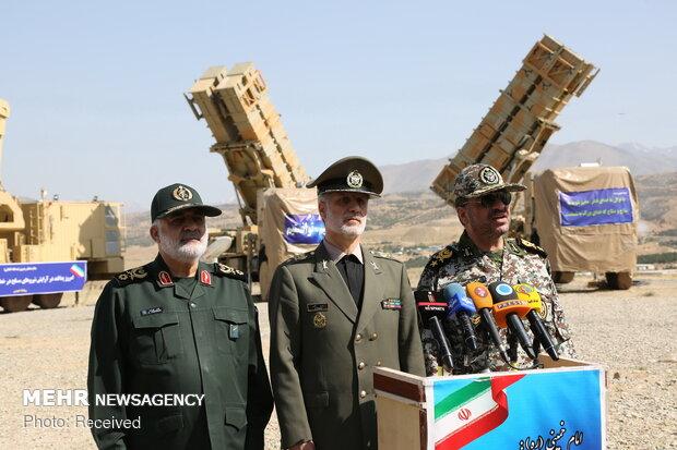 """Yerli hava savunma sistemi """"15 Hordad"""" tanıtıldı"""