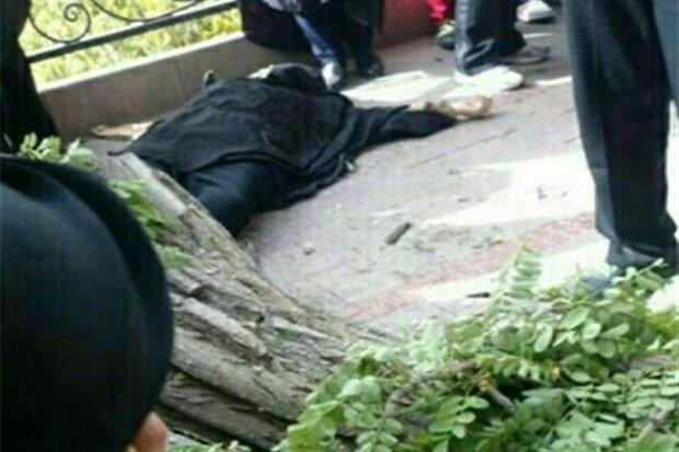 سقوط درخت در نجف آباد مرگ بانویی جوان را در پی داشت