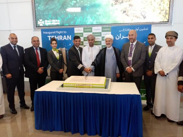 Omani airline launches direct flight route to Tehran