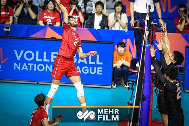 VIDEO: Iran vs Japan highlights at VNL 2019