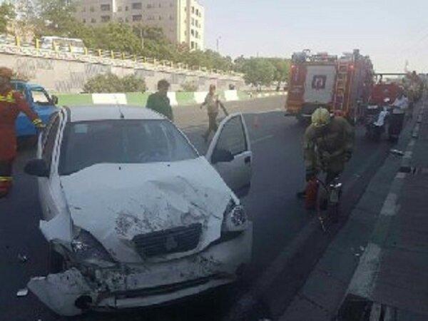 برخورد شدید ۲ خودرو در محور مراغه- بناب ۴ کشته و زخمی درپی داشت