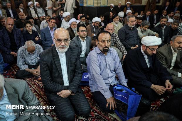 مراسم ختم حجت الاسلام خرسند