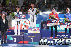 مردان ایران عنوان سوم را کسب کردند