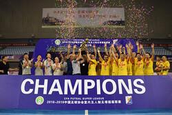 کولاک ملی پوشان ایران در لیگ فوتسال چین/ دو ملی پوش بهترین شدند