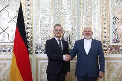 جرمنی کے وزير خارجہ کی ایرانی وزیر خارجہ سے ملاقات