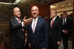 چاوشاوغلو با برهم صالح دیدار کرد
