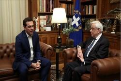 رئیسجمهوری یونان با انحلال پارلمان موافقت کرد