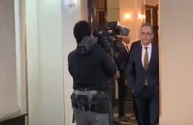 VIDEO: German FM at Iranian Foreign Ministry