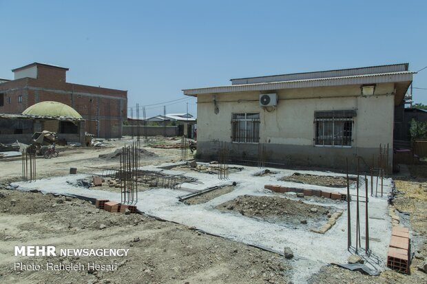 İran'daki sel bölgesinden son kareler