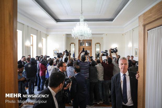 Zarif, Maas meeting in Tehran