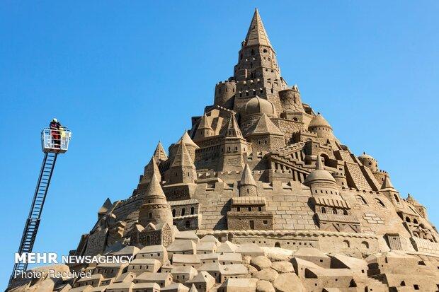 بلندترین قلعه شنی جهان
