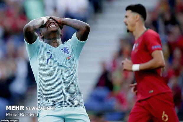 دیدار تیم های ملی فوتبال پرتغال و هلند