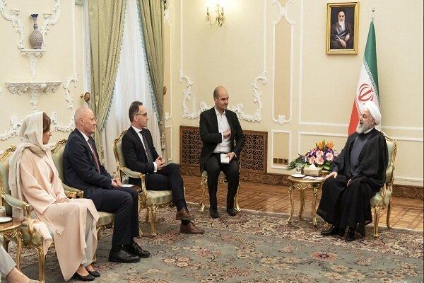Ruhani, Almanya Dışişleri Bakanı'nı kabul etti