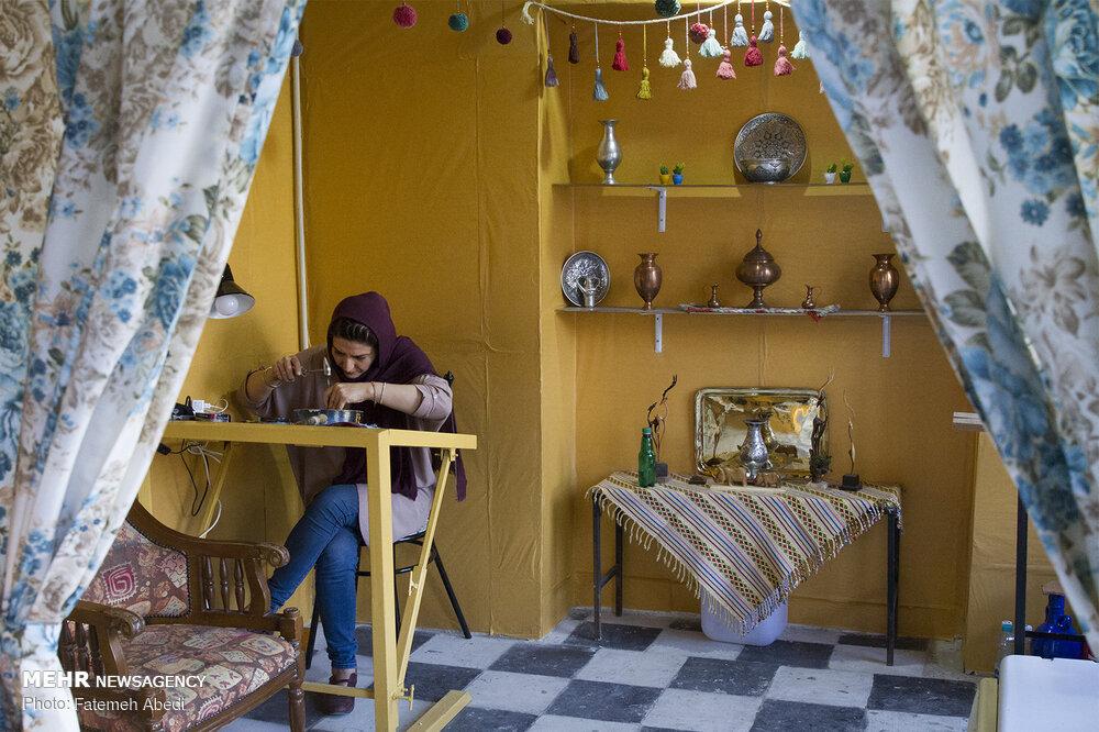 On occasion of World Handicraft Day; Markazi province