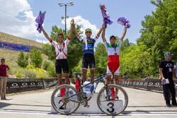 İran'da Uluslararası Dağ Bisikleti Yarışı
