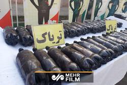 کشف ۳۵ کیلو و ۲۰۰ گرم تریاک در عملیات مشترک پلیس پایتخت و یزد