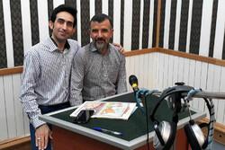 کاریکاتوریست زنجانی به رادیو صبا میرود