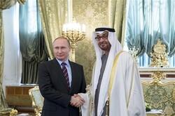 گفتگوی تلفنی پوتین با ولیعهد ابوظبی