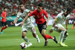 تیم ملی فوتبال ایران و کره جنوبی - امید ابراهیمی
