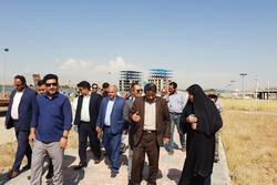شهردار و اعضای شورای شهر محمدیه از طرح های عمرانی بازدید کردند