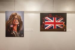 Tahran'da İngiltere'yi eleştiren karikatür sergisi açıldı