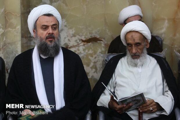 مراسم بزرگداشت شهید حجتالاسلام «خرسند» در قم