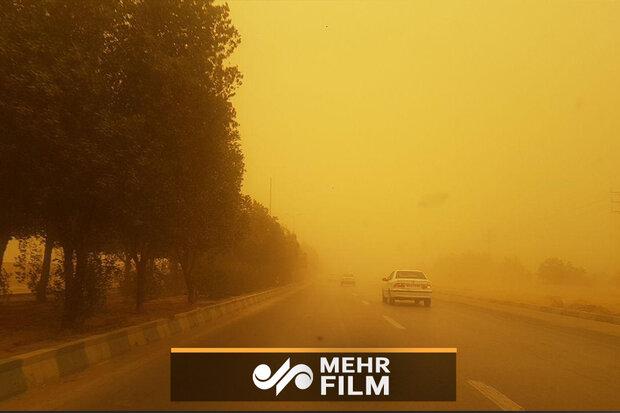 هشدارِ تشدید بادهای ۱۲۰ روزه در نیمه شرقی ایران طی امروز