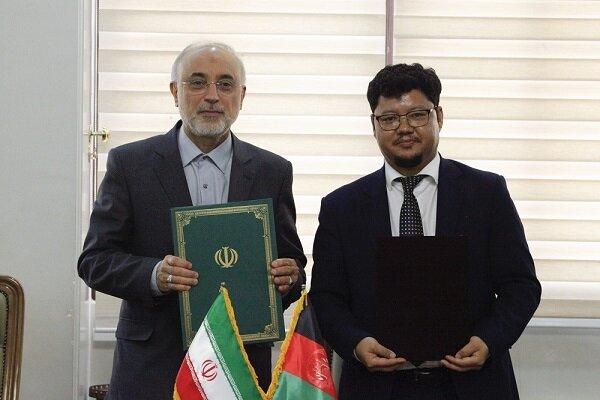 طهران وكابل توقعان مذكرة تعاون بمجال الطاقة الذرية