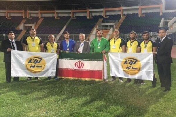 Iranian Kurash team took 2nd place
