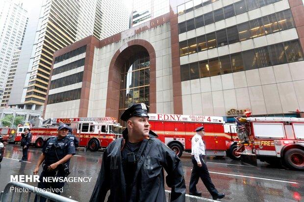 سقوط هلیکوپتر در آمریکا