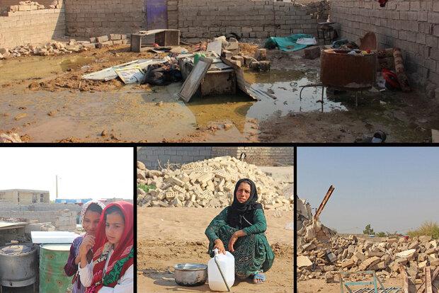 مصائب خوزستان پس از سیل؛ کانونهای خطرساز شیوع بیماری کنترل شود